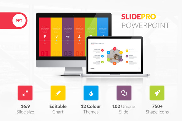"Modello Powerpoint Professionale ""SlidePro"""