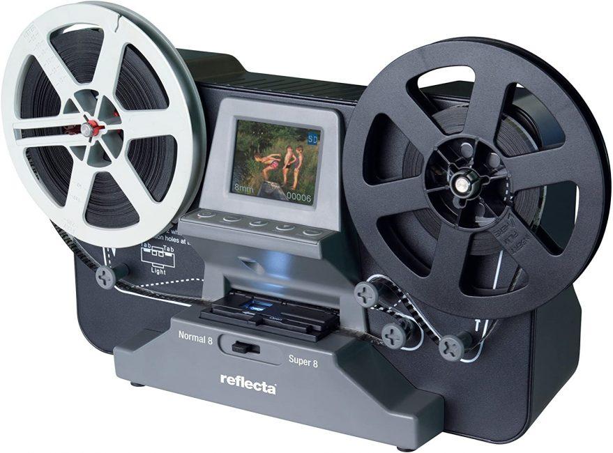 """Digitalizza i tuoi video super 8 in modalità """"Stand-alone"""""""