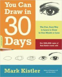 """""""Draw In 30 Days"""" è un ottimo libro per imparare le basi del disegno."""