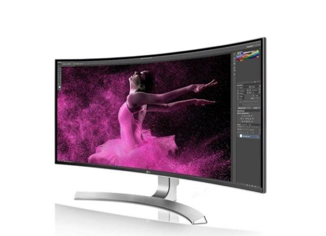 Monitor per designer curvo, da 34'', di LG